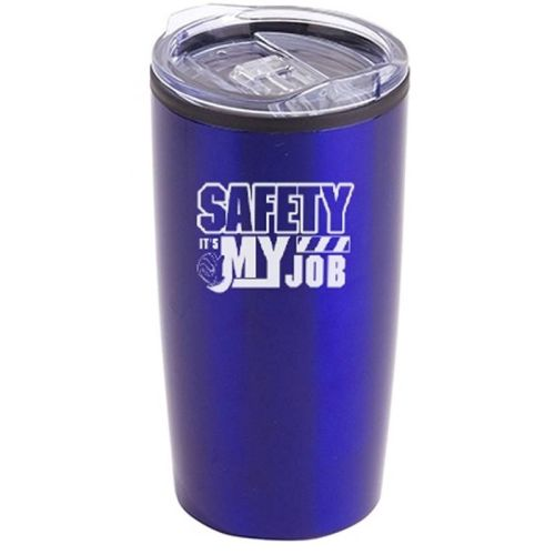 NS013820 Stainless Steel Tumbler- SAFETY IT'S MY JOB