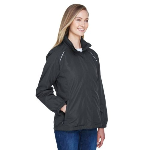 AD01389315 Core 365 Ladies' Fleece-Lined All-Season Jacket 01