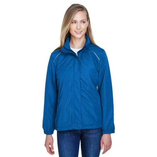AD01389315 Core 365 Ladies' Fleece-Lined All-Season Jacket