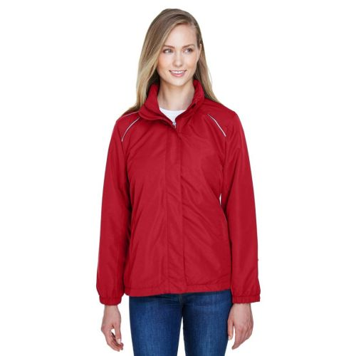 AD01389315 Core 365 Ladies' Fleece-Lined All-Season Jacket 05