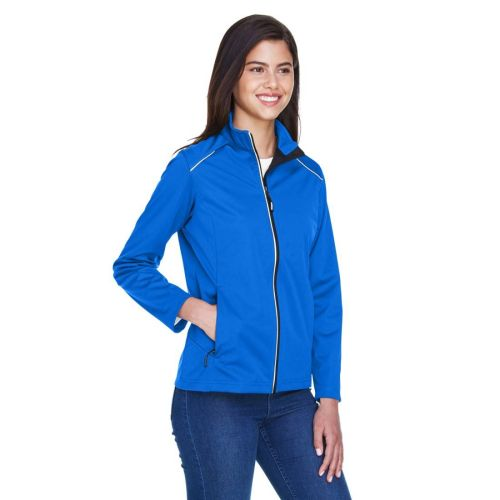 AD01389317 Core 365 Ladies' Techno Lite Three-Layer Knit Shell