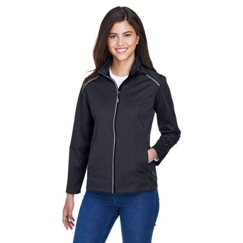 AD01389317 Core 365 Ladies' Techno Lite Three-Layer Knit Shell 2
