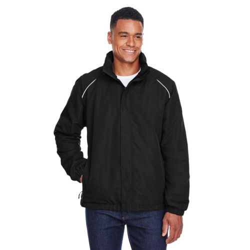 AD01389329 Core 365 Men's TALL Fleece-Lined All-Season Jacket