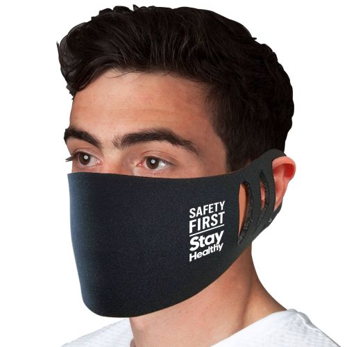 AD01389140 - Stretchable Face Mask - Black