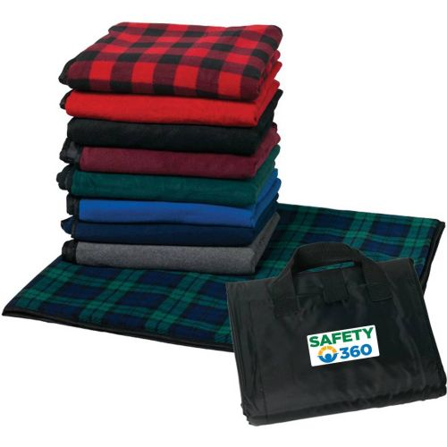 NS013844 SAFETY 360 Fleece Picnic Blanket