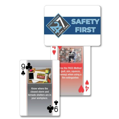 Safety Playing Cards