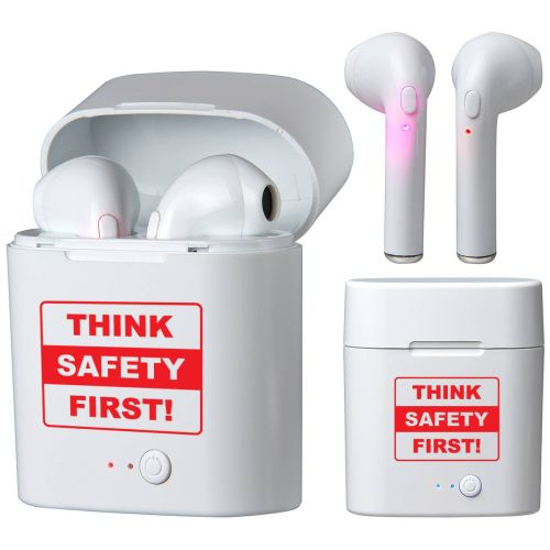 NS01389270 SAFETY FIRST Earbuds with Power Case