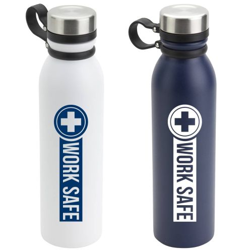 NS01389274 WORK SAFE 23 oz Vacuum Insulated Stainless Bottle