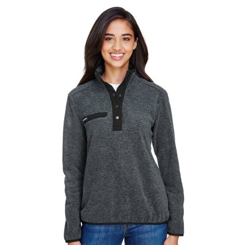 AD01389324 Dri Duck Aspen Mélange Mountain Fleece Pullover