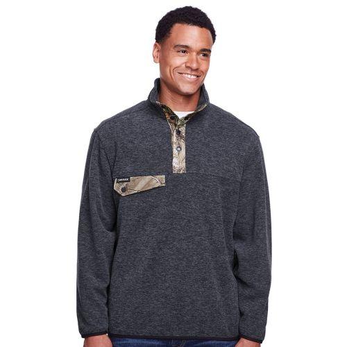 AD01389325 Dri Duck Men's Denali Fleece Pullover Jacket