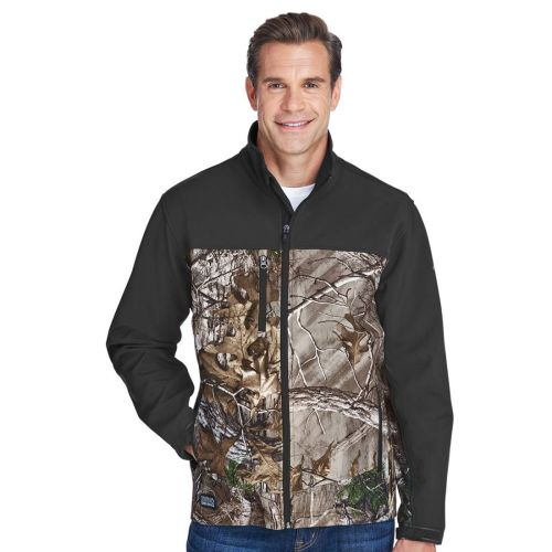 AD01389327 Dri Duck Men's Poly Spandex Motion Softshell Jacket