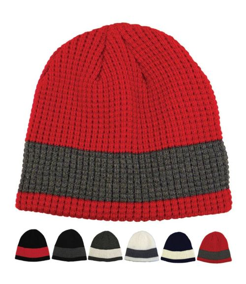 Two-Tone Fleece Lined Beanie