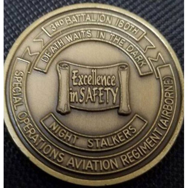 Custom Safety Challenge Coin- 1-1/2